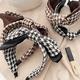 New Korean double-layer bow top knot headband  NHHI298748