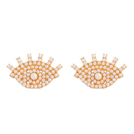 Mode Diamant Teufel Auge Ohrringe NHJQ298756's discount tags