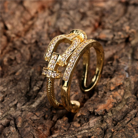 fashion open ring NHPY298883's discount tags