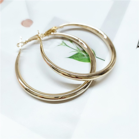 fashion alloy circle earrings  NHVA298899's discount tags
