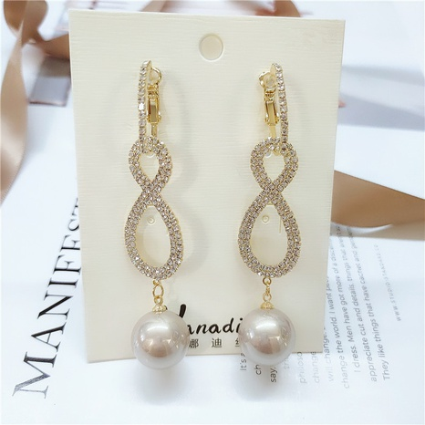 fashion gold long earrings NHVA298908's discount tags