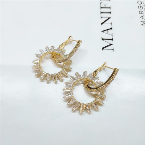 fashion alloy gemstone earrings NHVA298912's discount tags