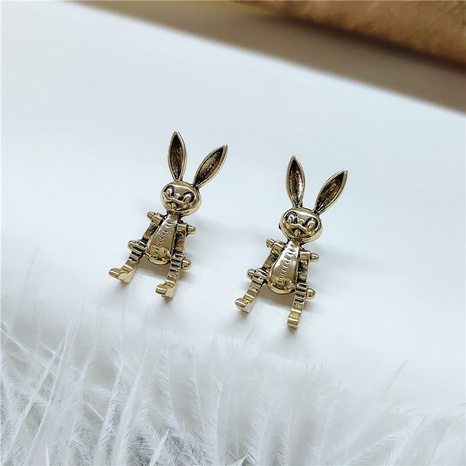 rabbit retro earrings NHVA298936's discount tags