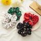 satin sweet hair scrunchies NHDM298959