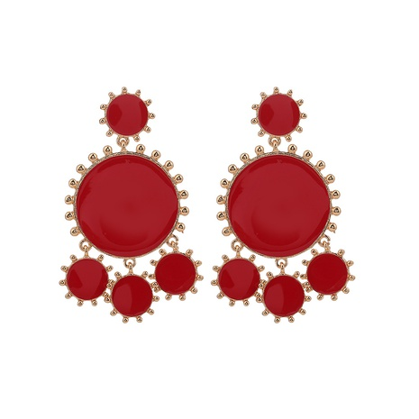 fashion round earrings NHOA298969's discount tags