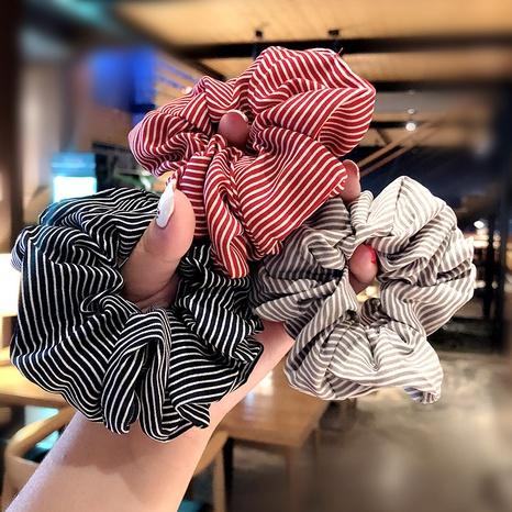 Chouchous à la mode en tissu rayé NHNA298978's discount tags