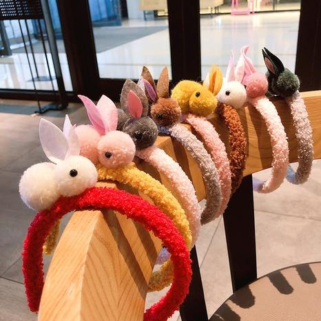 Koreanisches süßes Kaninchenstirnband NHNA298982's discount tags