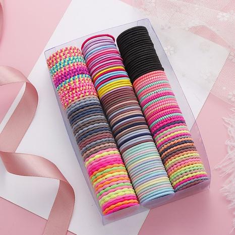 Korean cute hair rope set NHNA298986's discount tags