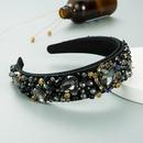 exaggerated large heartshaped fashion baroque hairband NHLN299001