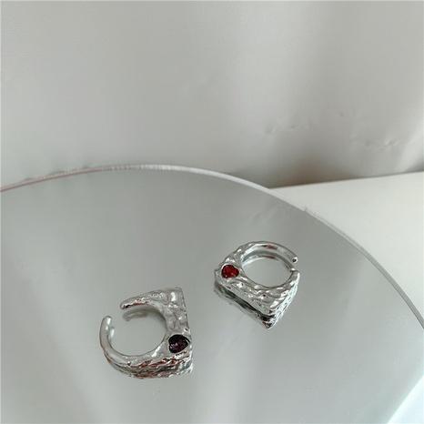 offener Diamantring aus Retro-Metall NHYQ299019's discount tags