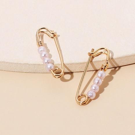 boucles d'oreilles en perles NHRN299024's discount tags