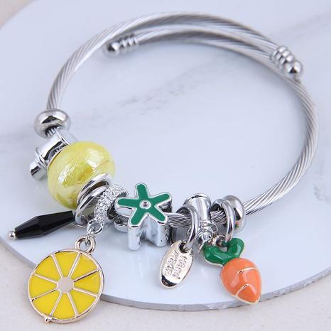 fashion metal wild simple wild fruit bracelet NHSC299881's discount tags