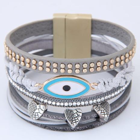 simple Devil's eye magnet buckle fashion bracelet NHSC299833's discount tags