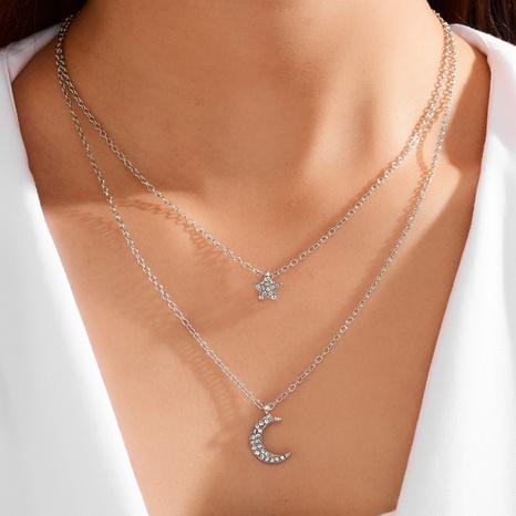 collar simple estrellas luna NHOT299783's discount tags