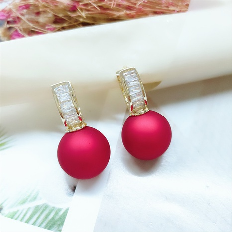 fashion pearl earrings  NHVA298917's discount tags