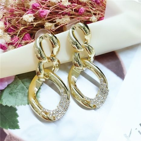 fashion retro alloy diamond earrings  NHVA298898's discount tags