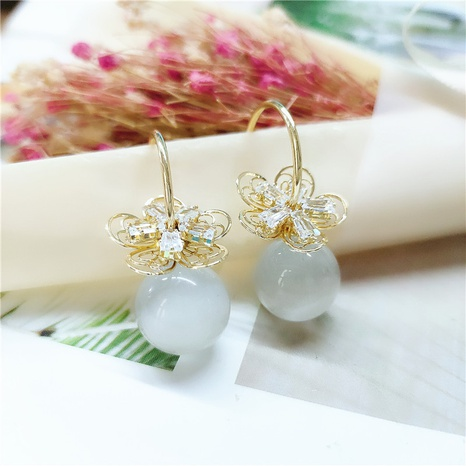 fashion pearl earrings  NHVA298896's discount tags