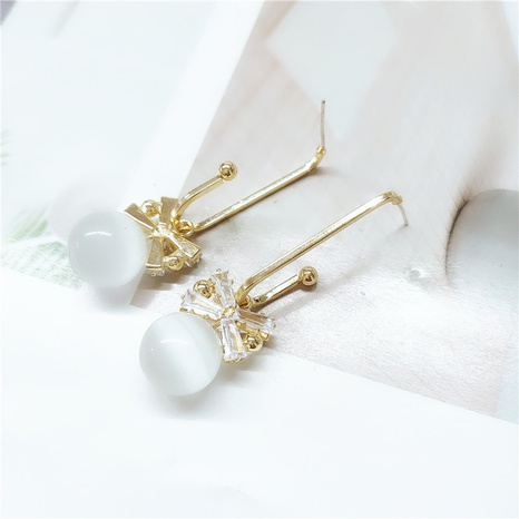 retro exquisite pearl earrings NHVA298902's discount tags