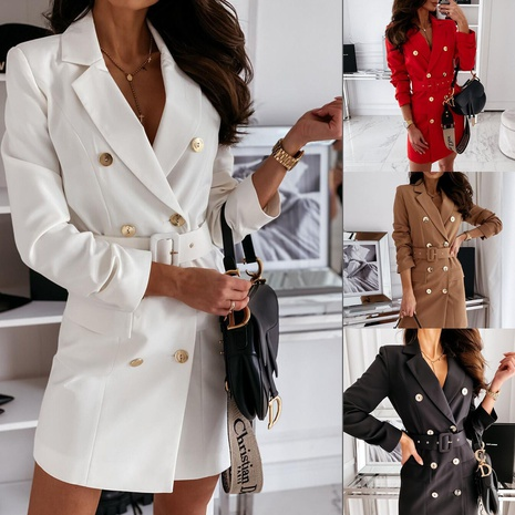 chaqueta de traje de manga larga NHYD299362's discount tags