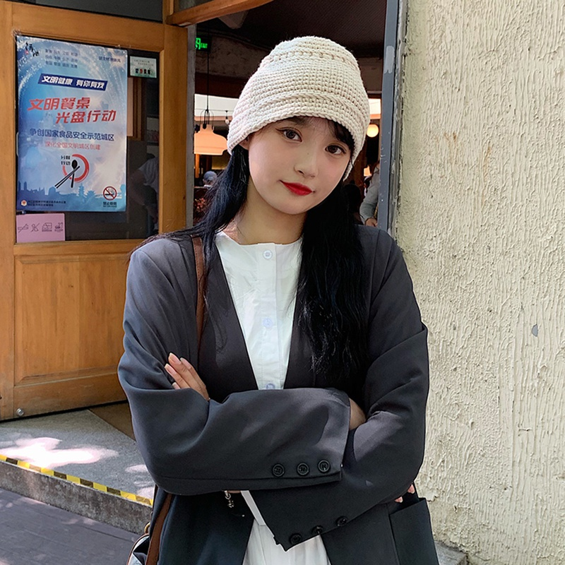 Korean trendy solid color hat  NHTQ299477