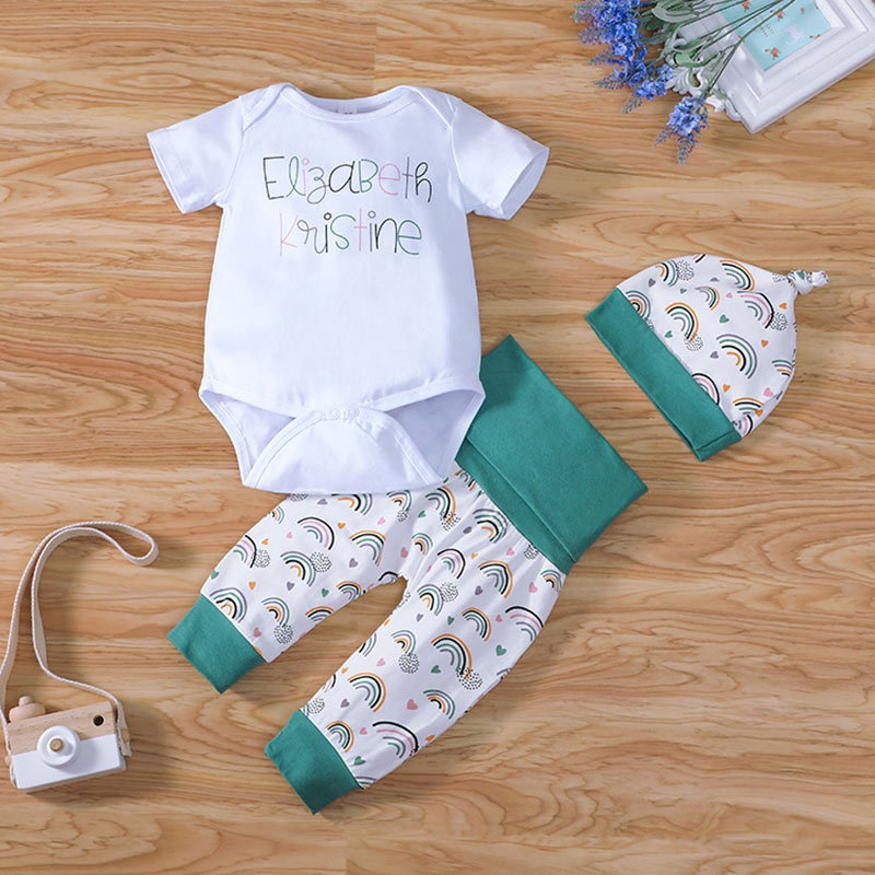 letters baby romper onepiece threepiece suit NHLF299682