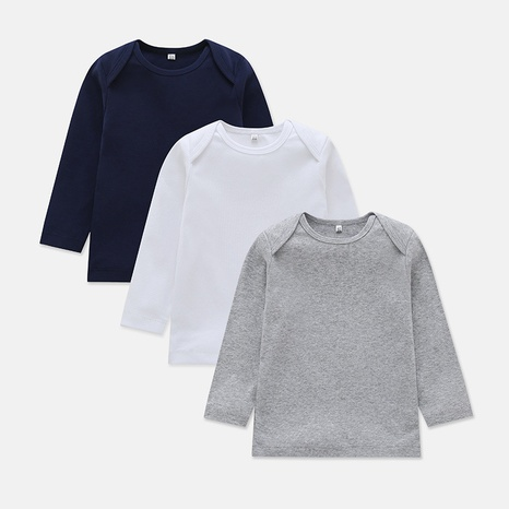 baby casual long-sleeved T-shirt  NHLF299698's discount tags