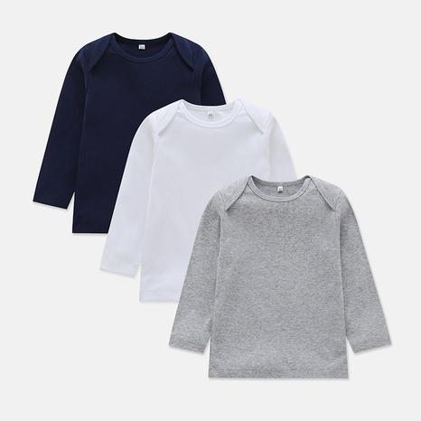 camiseta de manga larga casual para bebé NHLF299698's discount tags