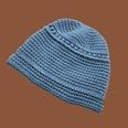 NHTQ1357585-Two-bar-handmade-woolen-hat-blue-M-(56-58cm)