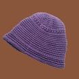 NHTQ1357587-Two-bar-handmade-woolen-hat-purple-M-(56-58cm)