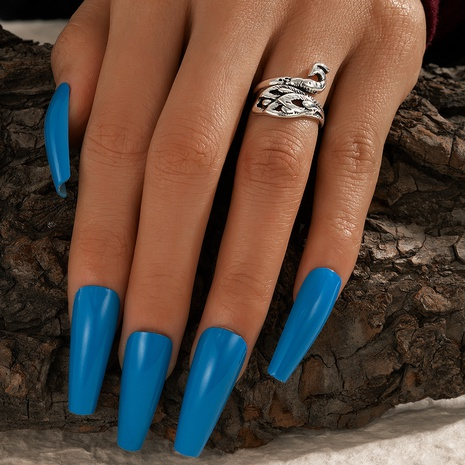 retro exaggerated animal peacock ring NHGY299831's discount tags