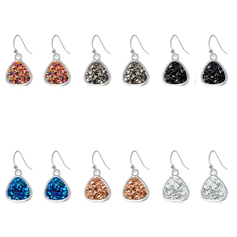 fashion heart crystal earrings  NHAN299908's discount tags