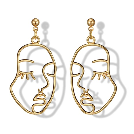 angel face alloy earrings  NHGY299929's discount tags