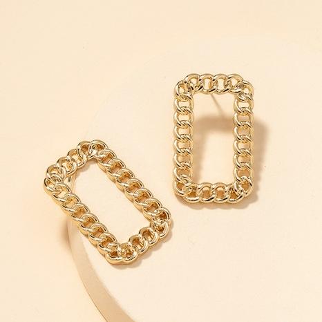 Fashion Square Earrings  NHGU300036's discount tags