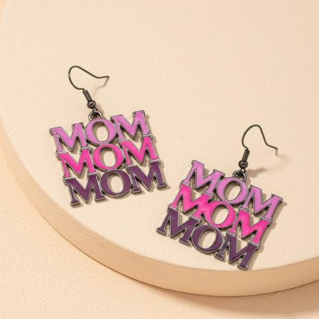 fashion letter mom earrings NHGU300041's discount tags