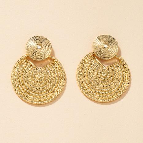 Fashion Metallic Big Earrings  NHGU300045's discount tags