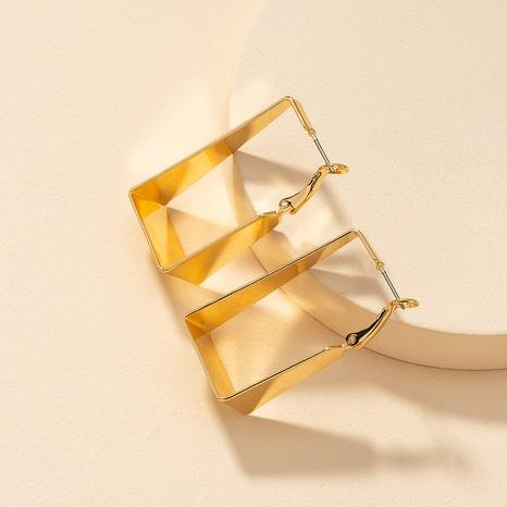 Fashion Metal Geometric Earrings NHGU300052's discount tags