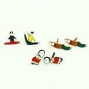 fashion cute gymnastics athletes asymmetrical earrings NHGO300080