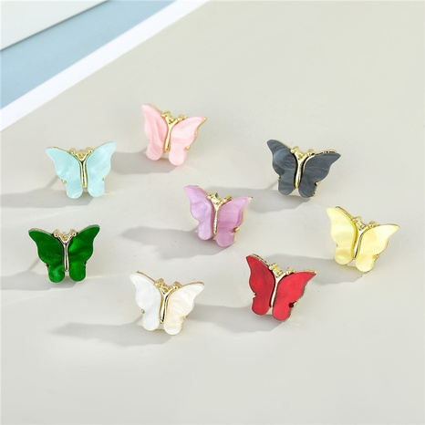 exquisite butterfly earrings  NHGO300090's discount tags