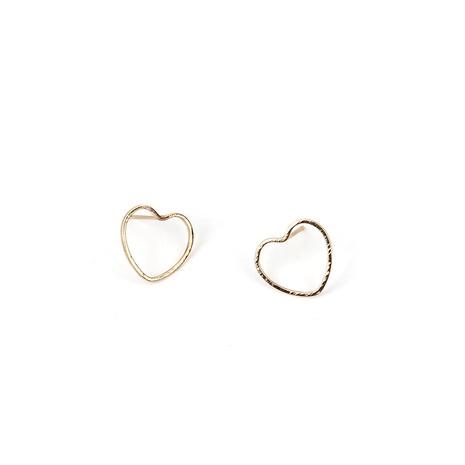 new fashion simple geometric heart-shaped earrings NHRN300121's discount tags