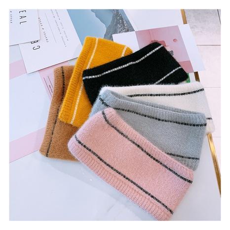 Nouvelle bande de cheveux à larges bords en laine tricotée de Corée NHHD300193's discount tags