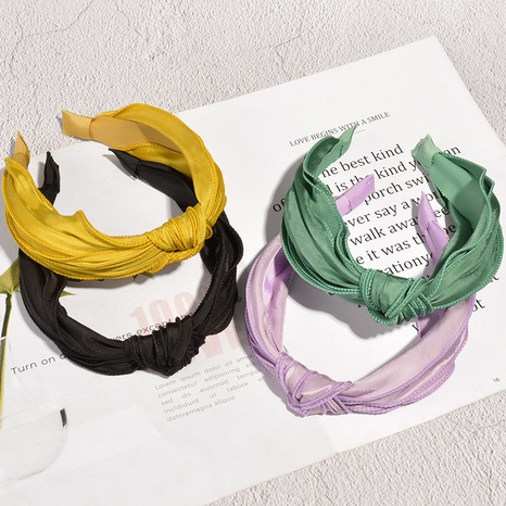 Korean broad-brimmed candy-colored headband NHAQ300283's discount tags