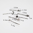 alloy bow hair clip NHAR300303