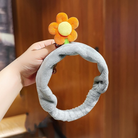 new flower wash hairband NHNU300369's discount tags