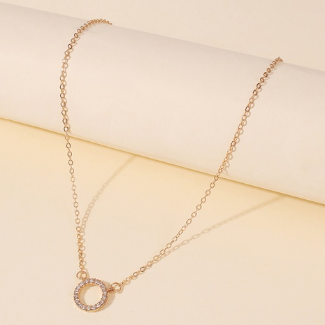 simple single layer necklace NHMD300365's discount tags