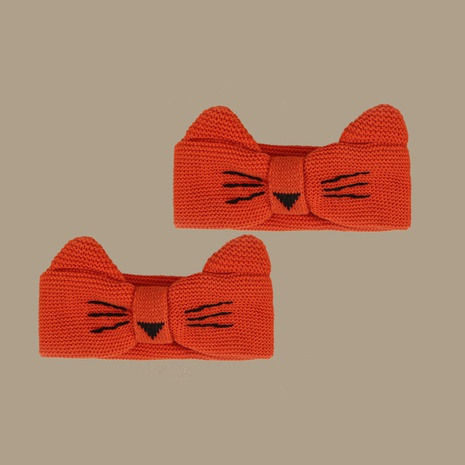 Pure color cute cat ears headband  NHTQ299469's discount tags
