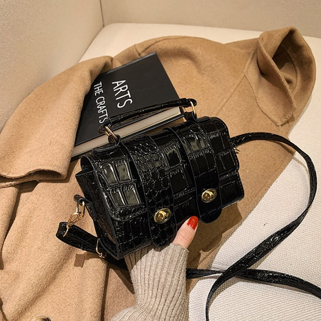 Retro new korean fashion square bag NHRU300391's discount tags