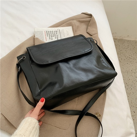 new trendy all-match casual one-shoulder big bag  NHRU300419's discount tags