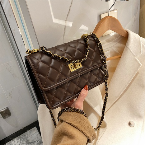 new fashion style rhombic chain bag NHJZ300580's discount tags