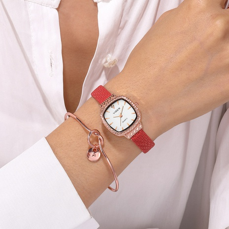 Fashion new square retro simple watch  NHSS300602's discount tags