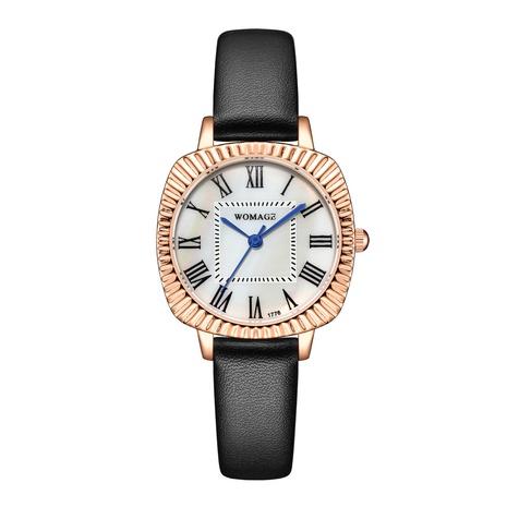 Reloj de cinturón fino con esfera ovalada de moda NHSS300605's discount tags